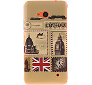 Vintage Postcard Design TPU + IMD Phone Case For Nokia N640