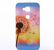 Dandelion Pattern TPU Soft Case for Huawei G8