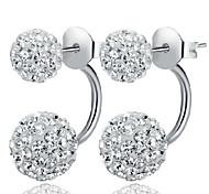 WH  Woman Shambhala Rhinestone Earrings