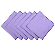 "Sinland Microfiber Cleaning cloth for Stainless Steel Appliances Glass Window Cleaning Cloths 12""x16"" 6 Pack"