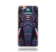 Elephant  Pattern TPU Case for IPHONE 6S