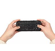 3 en 1 mini usb teclado bluetooth inalámbrico volar 2.4g ratón aire de control remoto para la tableta del ordenador portátil androide