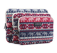 "Maniche copertura elefante stampe plaid laptop caso shakeproof per MacBook Pro / Pro retina 13 ""15"" thinkpad dell samsung hp"