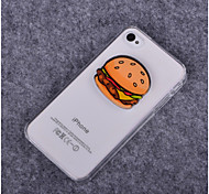 Hamburger Pattern PC Hard Case for iPhone 4/4S