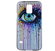 gekleurde tranen patroon pc harde case voor Samsung Galaxy S6 rand plus / galaxy s5 / galaxy s5 mini