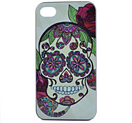 Skull Pattern PC Hard Case for iPhone 4/4S