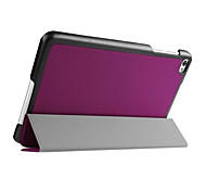 """Smart Cover Three Fold Stand Flip Cover Protective Leather Case Cover For Huawei MediaPad M2 8""""(Assorted Color)"""