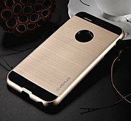 High Quality Hair Line Style Hybrid TPU+PC Back Cover for iPhone 6 plus (Assorted Colors)