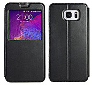 KALAIDENG Sun Series Super Thin View Leather Case for Samsung NOTE5