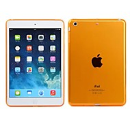 Transparent Colorful Back Protective Cover for iPad Mini 1/2/3(Assorted Colors)
