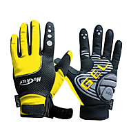 Activity/ Sports Gloves Cycling/Bike Women's / Men's / Unisex Full-finger Gloves / Winter Gloves Autumn/Fall / WinterYellow / Red / Gray