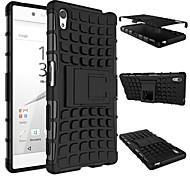 Rüstung schwere harten Abdeckungsfall für das Jahr 2015 Sony Xperia z5 e6603 e6633 e6653 e6683 Silikon schützende Haut doppelte Farbe