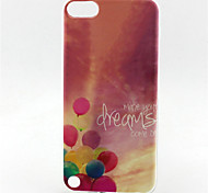 Balloon Painting Pattern TPU Soft Case for iPod Touch 5