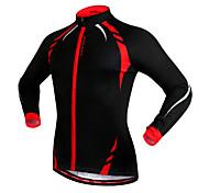 Wosawe Fahhrad/Radsport Trikot/Radtrikot / Jacke / Oberteile Unisex LangärmeligeWindundurchlässig / warm halten / Reflexstreiffen /