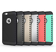 Super Protection  2in1 Combo Shell Protective Sleeve for iPhone 6S Plus/6 Plus (Assorted Color)
