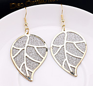 Leaf earrings fashion wild swing