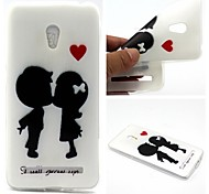 I Will Grow Up Words Phrase Pattern 0.6mm Ultra-Thin Soft Case for Zenfone5 Lite