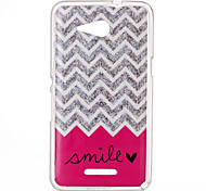 Smile Pattern TPU Phone Case for Sony Xperia E4G