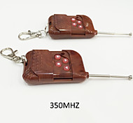 Garage door remote control cloning transmitter duplicator 4-Button 350 MHZ