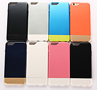 Two-in-One PC Fashion New Style Assemble Mobile phone Case for iPhone 6S Plus/6 Plus Assorted Color