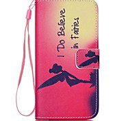Girl Pattern PU Material Card Lanyard Case for Samsung Galaxy S6 edge/S6/S5/S4/S3/S3Mini/S4Mini/S5Mini/S6 edge+