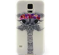 Voor Samsung Galaxy hoesje Patroon hoesje Achterkantje hoesje Dier TPU Samsung S5 Mini / S4 Mini / S3 Mini