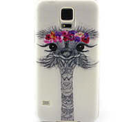 modelo pintura avestruz encantadora TPU caso suave para el mini mini mini s4 / samsung galaxy s3 / s5