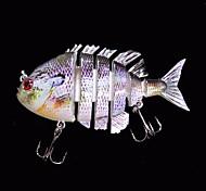 1 pc Esche rigide / Esca Esche rigide Porpora 14 g Oncia,80 mm pollice,Plastica dura Pesca di mare