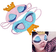 coroa da princesa fantasia olhos cobertura de viagem máscara do sono sombra olho olhos vendados