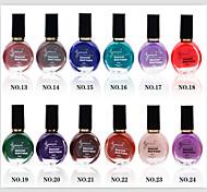 12pcs Nail Printing Special Oil Nail Polish