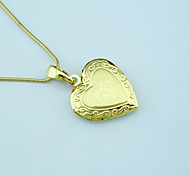 Pendants Metal Heart Shape As Picture 1
