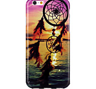 Sea Dream Catcher Pattern TPU  Back Cover Case for iPhone 6/iPhone 6S