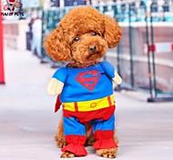 Dog / Cat Coat / Pants / Bandanas & Hats Red Winter Characters Cosplay / Halloween