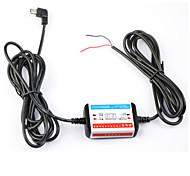 dearroad 12V-24V exklusiven Power-Box Fest verdrahtet Batterie Entladungsschutz für Auto-DVR Schnittstelle Mikro-USB-