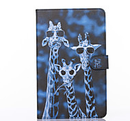 Crazy Deers Pattern PU Leather Full Body Case with Stand for Galaxy Tab E 9.6 T560