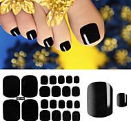 1 Sheet Toenails Stickers Summer Style Stickers Ongles Decoration Beauty Glitter Toe Nail Art Stickers