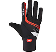 Santic Cycling Gloves Full Finger Warm Soft Keep Warm Full Finger Bike Bicycle Mittens Windproof Thermal Winter