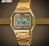 SKMEI® Classic Fashion Square Digital Steel Sports Watch Chronograph / Alarm / Calendar / Water Resistant Cool Watch Unique Watch