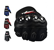 Motorrad-Handschuhe Vollfinger Polyester / Netz M / L / XL Rot / Schwarz / Blau