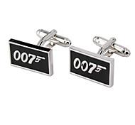 007 Design Men's Cufflinks