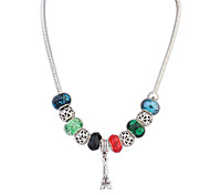 European Style Tower Colorful Exotic Fashion Necklace