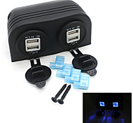 12V Car Truck Boat Accessory Dual USB Charger Power Adapter Outlet Universal