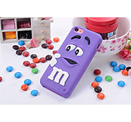 Cute Cartoon Shell Silicone Sets Mobile Phone Protection Shell For iPhone 5C(Assorted Color)
