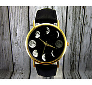 Moon Phase Watch, Astronomy Watch,Space Watch,Ladies Watch,Mens Watch ,Gift Idea,Custom Watch,Fashion Accessory