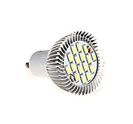 HRY® 8W GU10 16XSMD5630 650LM Warm/Cool White Light LED Light Spotlight Bulb(AC85-265V)