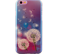 Dandelion Pattern Blu-ray IMD Cell Phone Case for iPhone 6 /6S