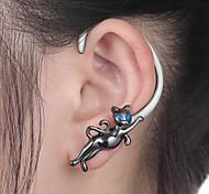 Punhos da orelha Formato Animal,Jóias 1pç Prateado Liga Diário / Casual