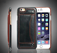 New Ultra Thin Wallet +Stand+Phone Case Back Cover and Card Slot for iPhone 6/6S
