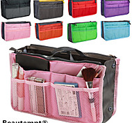 Women's Travel Portable Multifunctional Mesh Cosmetic Makeup Bag Storage Handbag Organizer(8 Color Choose)