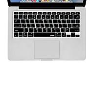 XSKN la piel cubierta de teclado de silicona hebreo para el aire del macbook 13, MacBook Pro sin retina 13 15 17, nosotros diseño